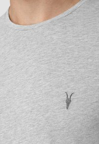AllSaints - BRACE - Basic T-shirt - grey marl - 1