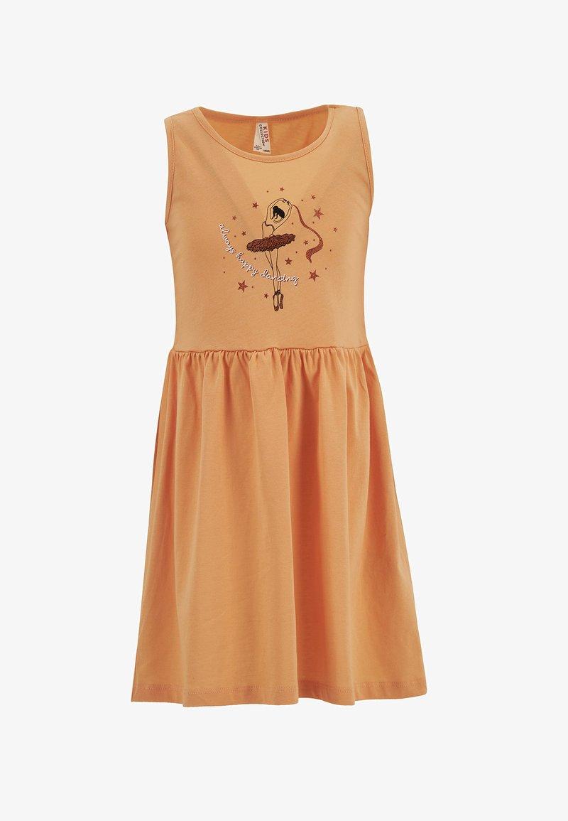 DeFacto - Jersey dress - orange