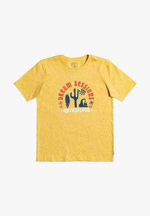 Print T-shirt - rattan heather