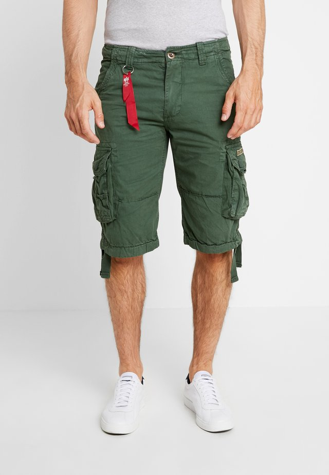 JET - Cargo trousers - dark petrol
