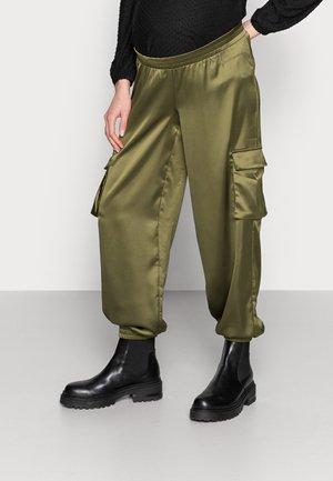 MLASA PANT - Spodnie treningowe - deep lichen green