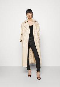 Morgan - PALINA - Jeans Skinny Fit - noir - 1