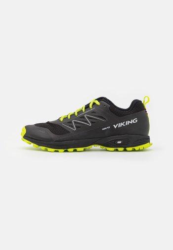 ANACONDA LIGHT INV FIT GTX UNISEX - Hiking shoes - black/lime