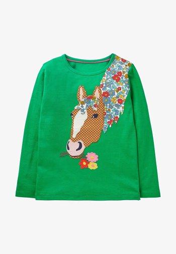 Long sleeved top - grüner pfeffer, pferd