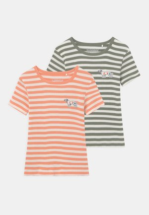 STREIFEN 2 PACK - Print T-shirt - multi-coloured