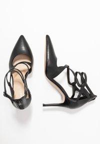 Anna Field - LEATHER HIGH HEELS - Zapatos altos - black - 3