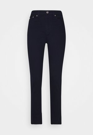 TROUSERS - Jeansy Straight Leg - navy