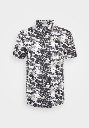 SMART CAMO FLORAL - Overhemd - black/white