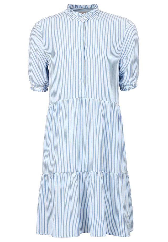 ALLYSIA SS - Shirt dress - cashmere blue
