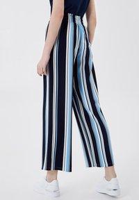LIU JO - Trousers - stripes/blue - 2