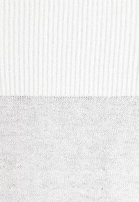 TWINSET - SCOLLO BARCHETTA  - Jumper - white - 2