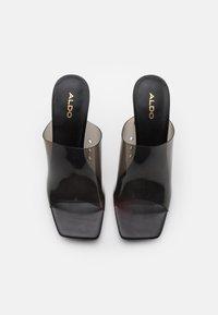 ALDO - YBENDAVIEL - Heeled mules - black - 5