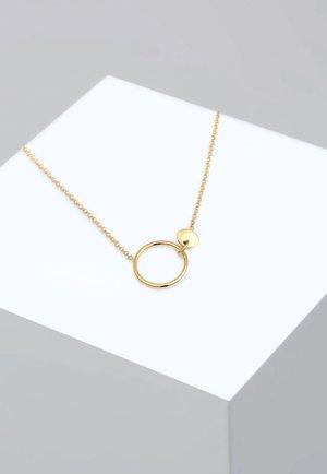 ERBSKETTE  - Naszyjnik - gold-coloured