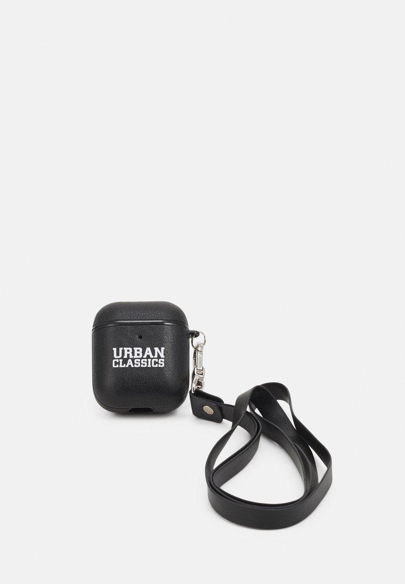 Urban Classics - EARPHONE CASE NECKLACE UNISEX - Technické doplňky - black