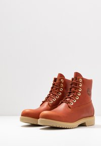 "Timberland - 1973 NEWMAN6"" BOOT WP - Lace-up ankle boots - rust - 2"