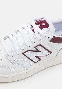 New Balance - 480 UNISEX - Sneakers - white - 5