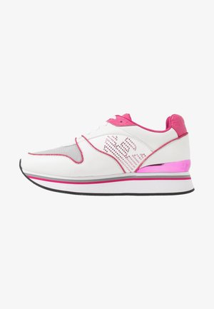 Trainers - white/silver/pink