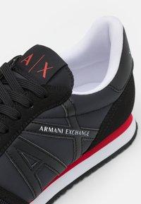 Armani Exchange - RIO  - Sneakers laag - full black - 5