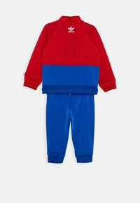 adidas Originals - BIG TREFOIL SET - Veste de survêtement - scarlet/royal blue/white - 1