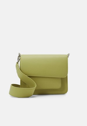 CAYMAN POCKET SOFT - Across body bag - lime green