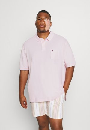 STRUCTURED POCKET - Polo shirt - light pink