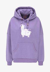 myMo - Hoodie - purple - 4