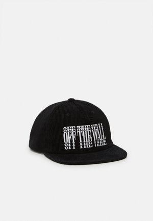 LOUNGING SHALLOW UNISEX - Cap - black/white