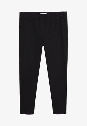 ELASTIC - Kalhoty - black