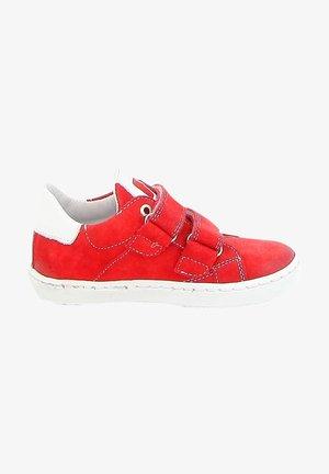 Sneakers laag - red