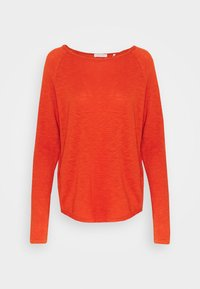 Rich & Royal - HEAVY LONGSLEEVE - Long sleeved top - rusty red - 0