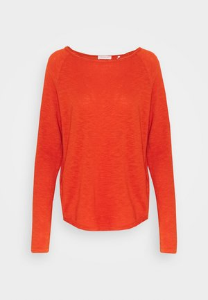HEAVY LONGSLEEVE - T-shirt à manches longues - rusty red