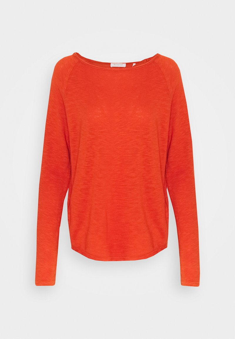 Rich & Royal - HEAVY LONGSLEEVE - Long sleeved top - rusty red