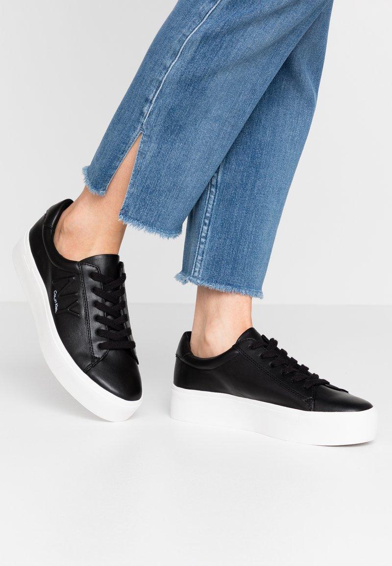 Calvin Klein - JAMELLA - Zapatillas - black