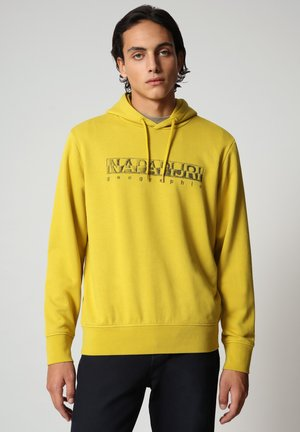 BALLAR  - Hoodie - yellow moss