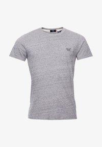 T-shirt med print - collective dark grey marl