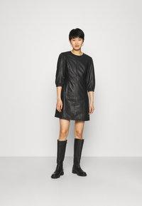 Deadwood - UFFIE DRESS - Day dress - black - 0
