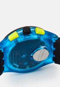 Swatch - TIRE - Chronograph watch - blue - 3