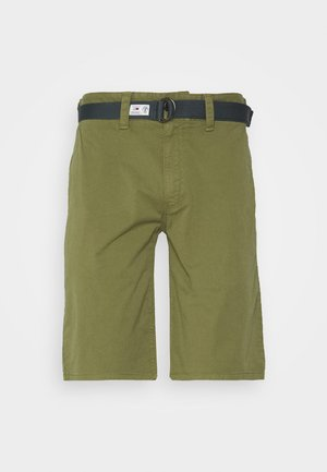 TJM VINTAGE WASH  - Shorts - uniform olive