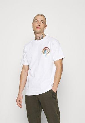 ROSKOPP DOT UNISEX - Print T-shirt - white