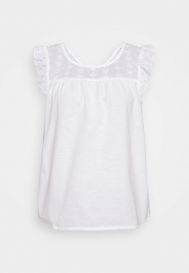BSUFANA - Blusa - bright white