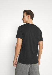 Calvin Klein Swimwear - INTENSE POWER CREW TEE - Undershirt - black - 2