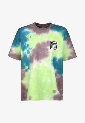 T-shirt imprimé - lime punch