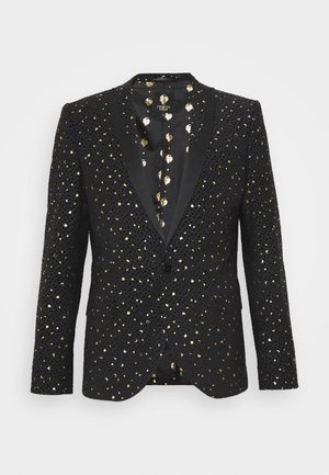 FARROW JACKET - Marynarka garniturowa - black