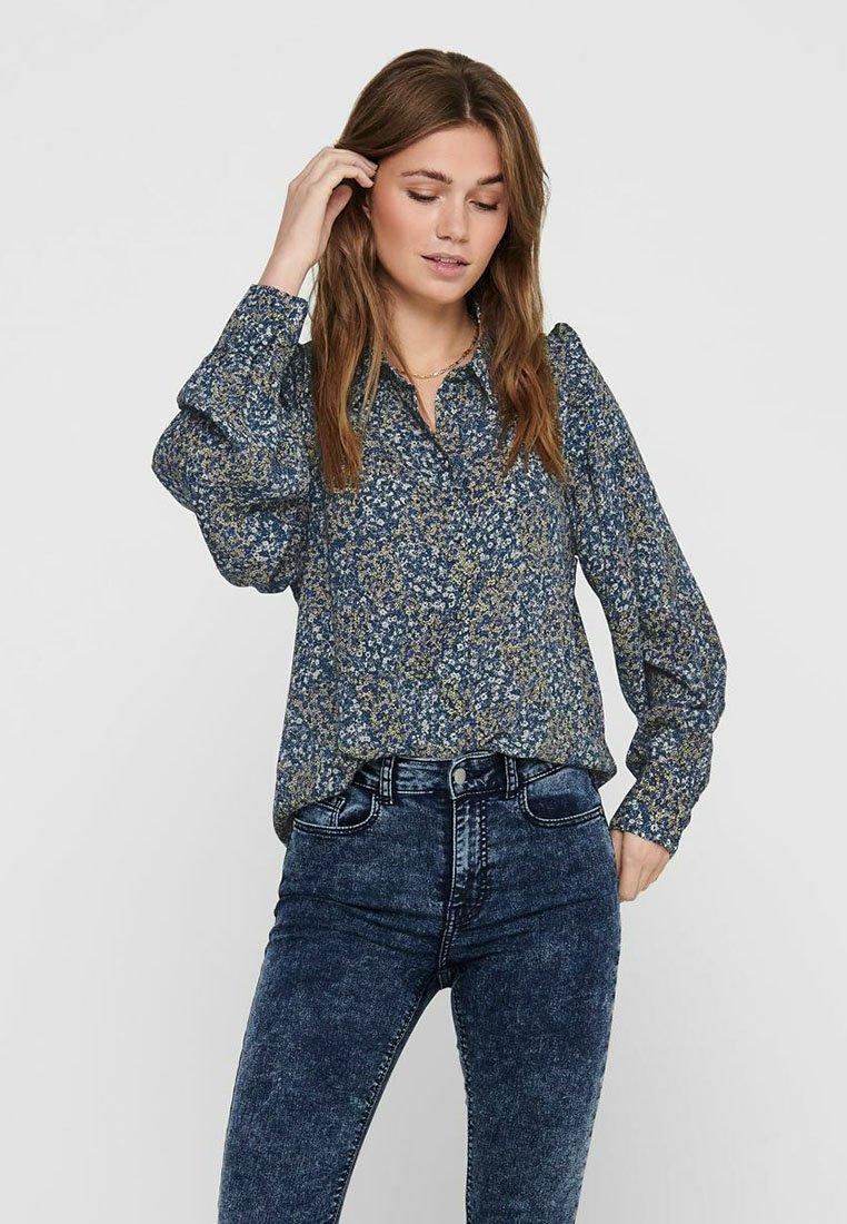 ONLY - Button-down blouse - cloud dancer