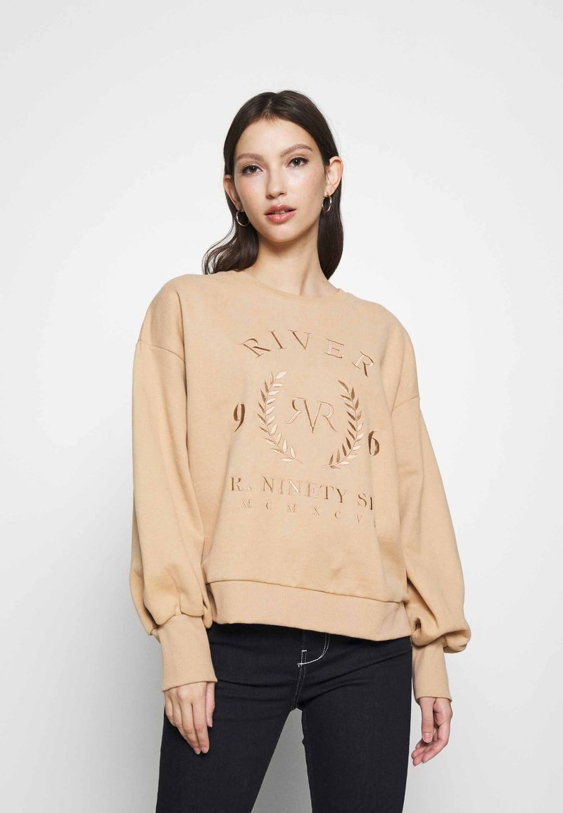 River Island - Sweatshirt - camel