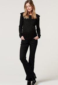 Noppies - SENNA  - Flared Jeans - black - 0