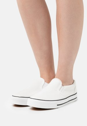 WIDE FIT NELSON - Trainers - white