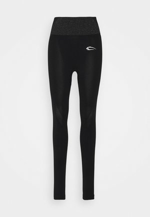 LEGGINGS EVERYTHING IS POSSIBLE - Tights - schwarz
