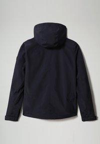 Napapijri - SHELTER HOOD - Jas - blu marine - 9