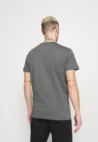 Diesel - T-DIEGO-LOGO - Print T-shirt - grey - 2
